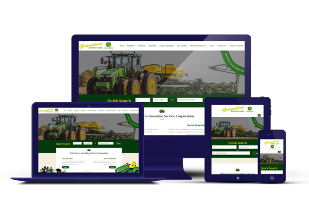 Custom Agricultural, RV and Trailer Websites