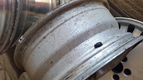 Dirty Aluminum Rims