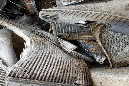 Dirty Aluminum Radiator