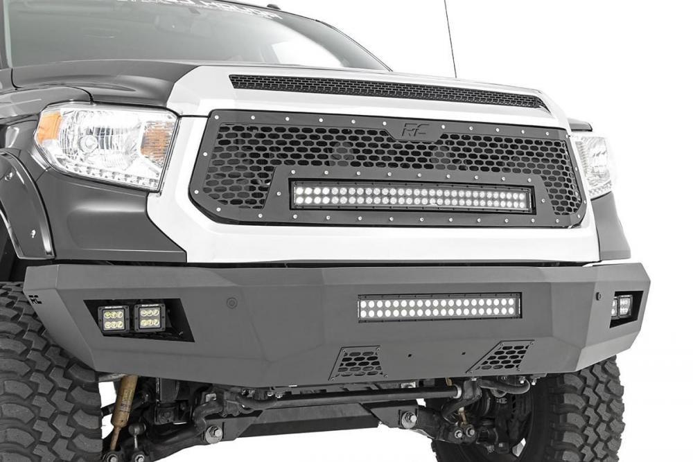 Toyota Heavy-Duty Front LED Bumper (14-20 Tundra