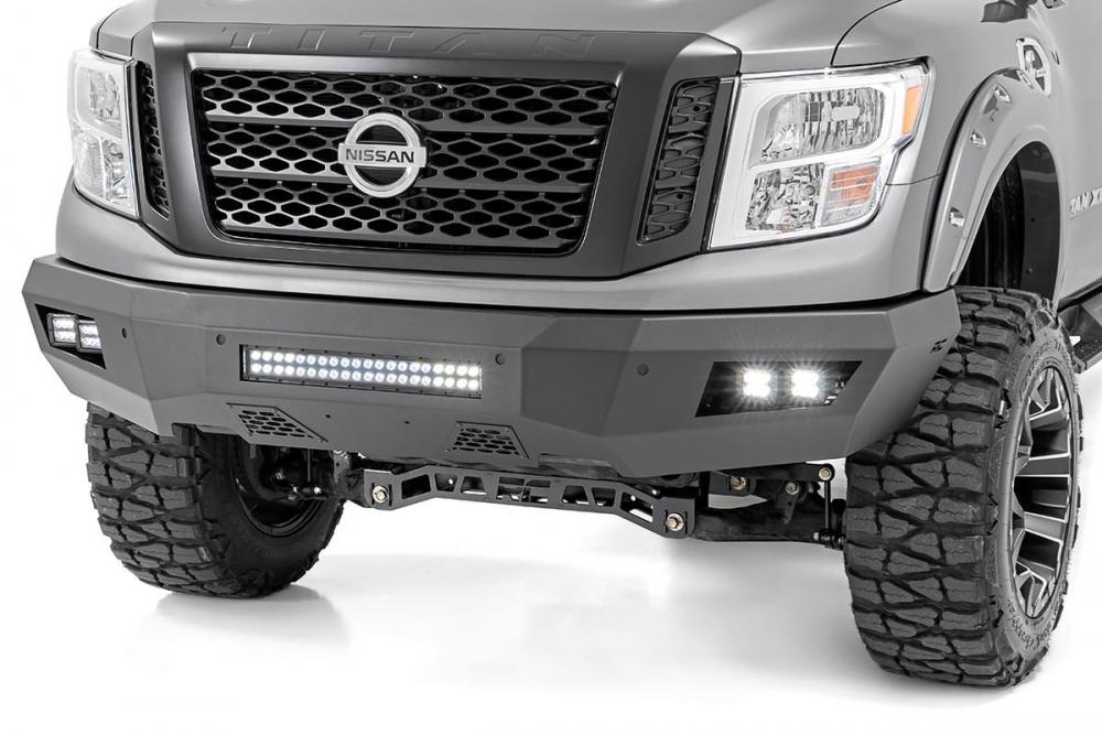 Nissan Heavy-Duty Front LED Bumper (16-20 Titan