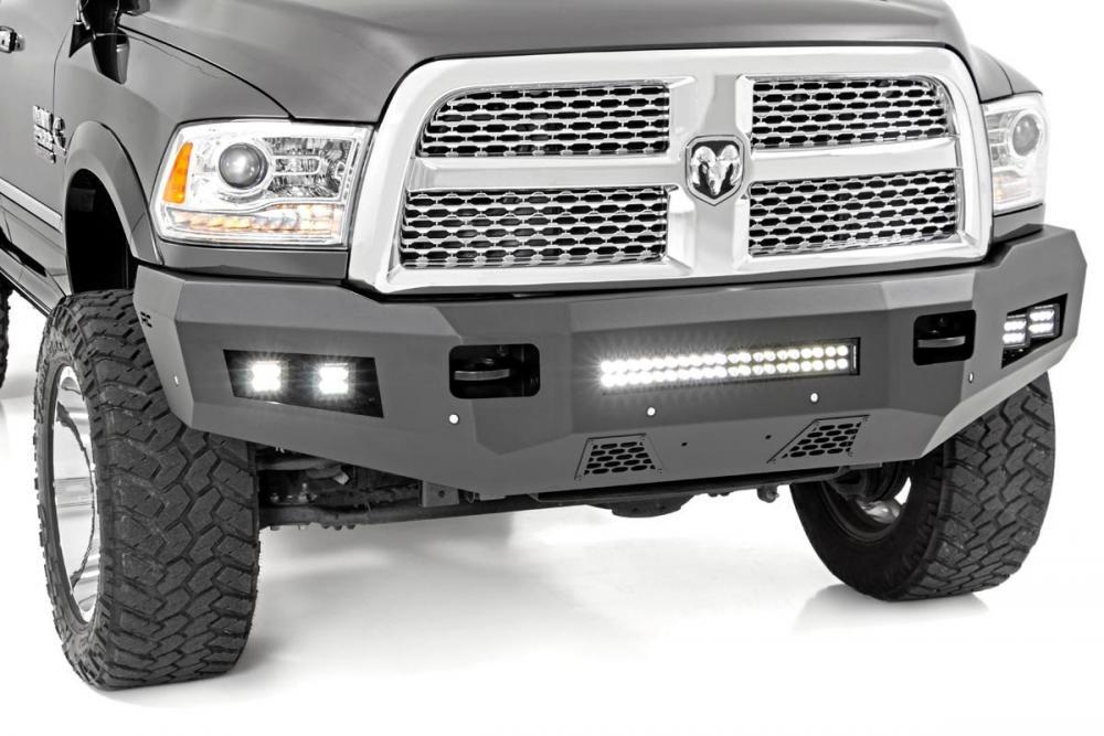 Ram Heavy-Duty Front LED Bumper (10-18 2500/3500