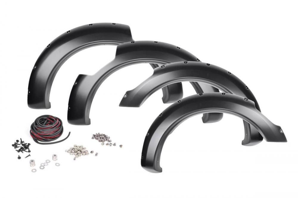 Nissan Pocket Fender Flares | Rivets | Unpainted