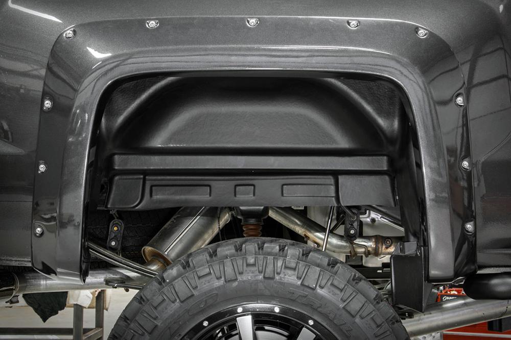 Chevrolet Rear Wheel Well Liners (15-19 2500HD/3