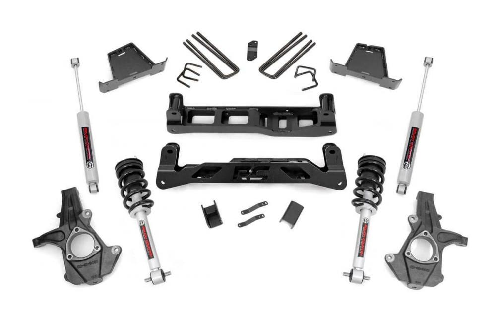 7.5in GM Suspension Lift Kit w/N3 Shocks & Strut