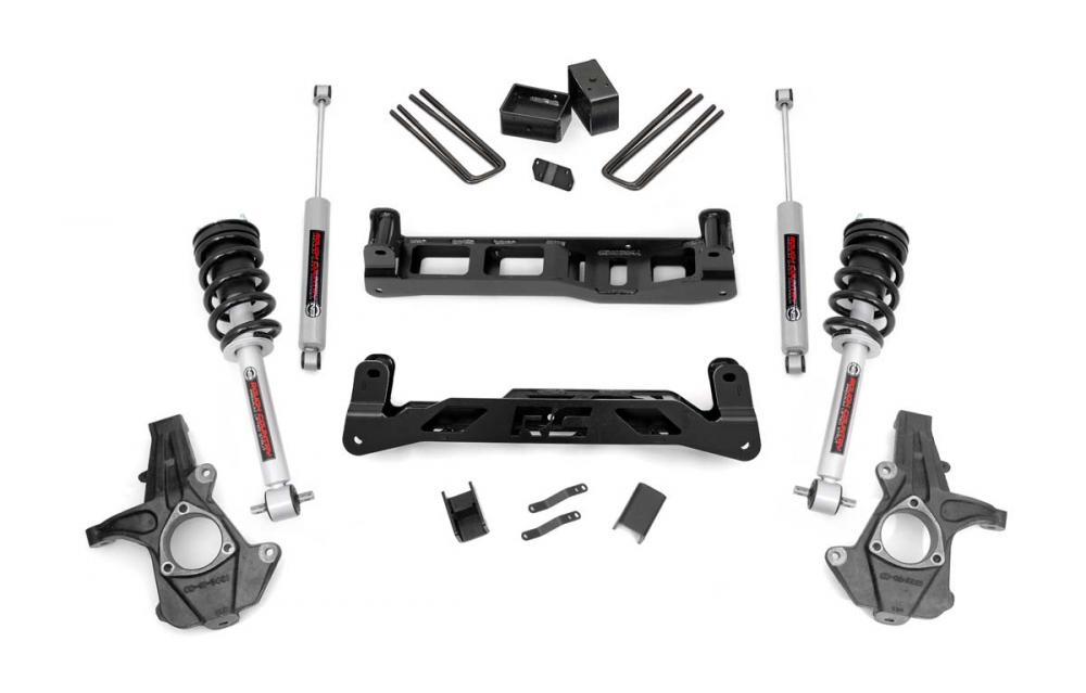 5in GM Suspension Lift Kit w/N3 Shocks & Struts