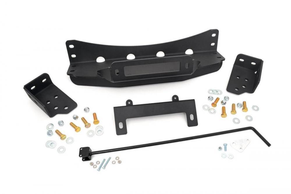 GM Hidden Winch Mounting Plate (07-13 Silverado/