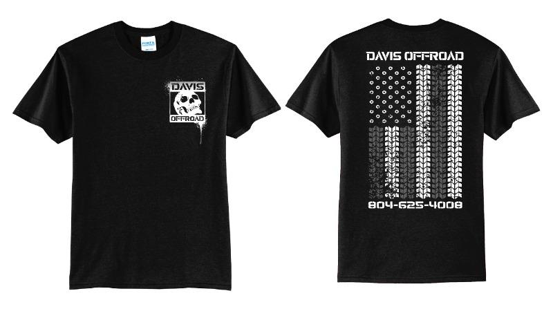 Black & White Flag T-shirt