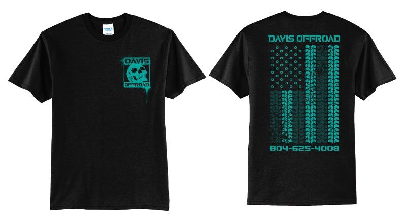 Teal Flag Shirt