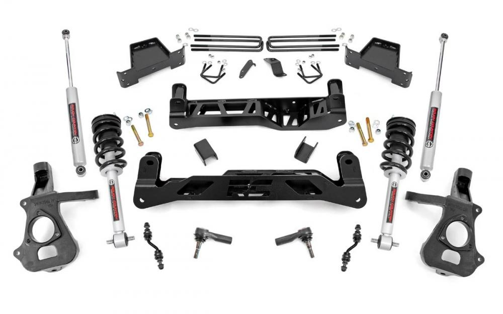 7in GM Suspension Lift Kit | Lifted Struts (14-1