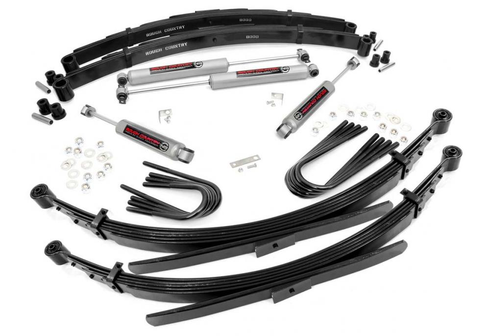 2in GM Suspension Lift System (52in Rear Springs