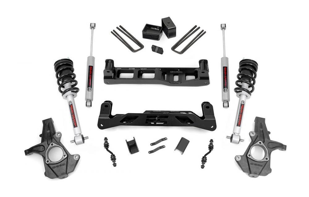 5in GM Suspension Lift Kit w/ Struts (14-18 1500