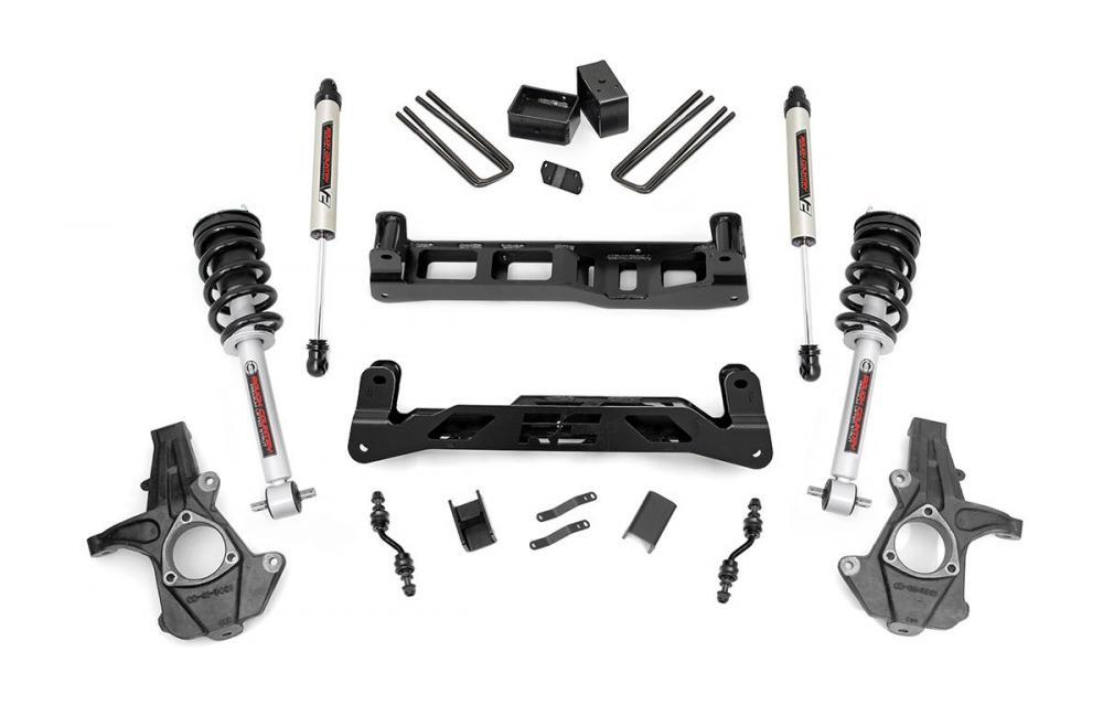 5in GM Suspension Lift Kit w/V2 Shocks & Struts