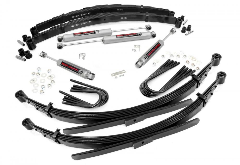 2in GM Suspension Lift System (56in Rear Springs