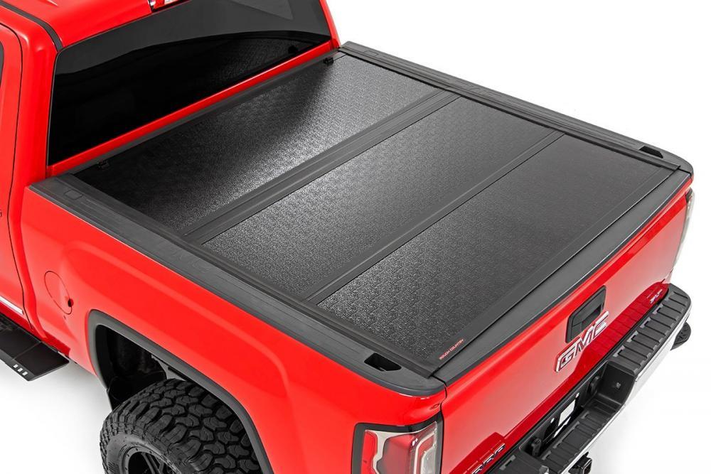 GM Low Profile Hard Tri-Fold Tonneau Cover (14-1