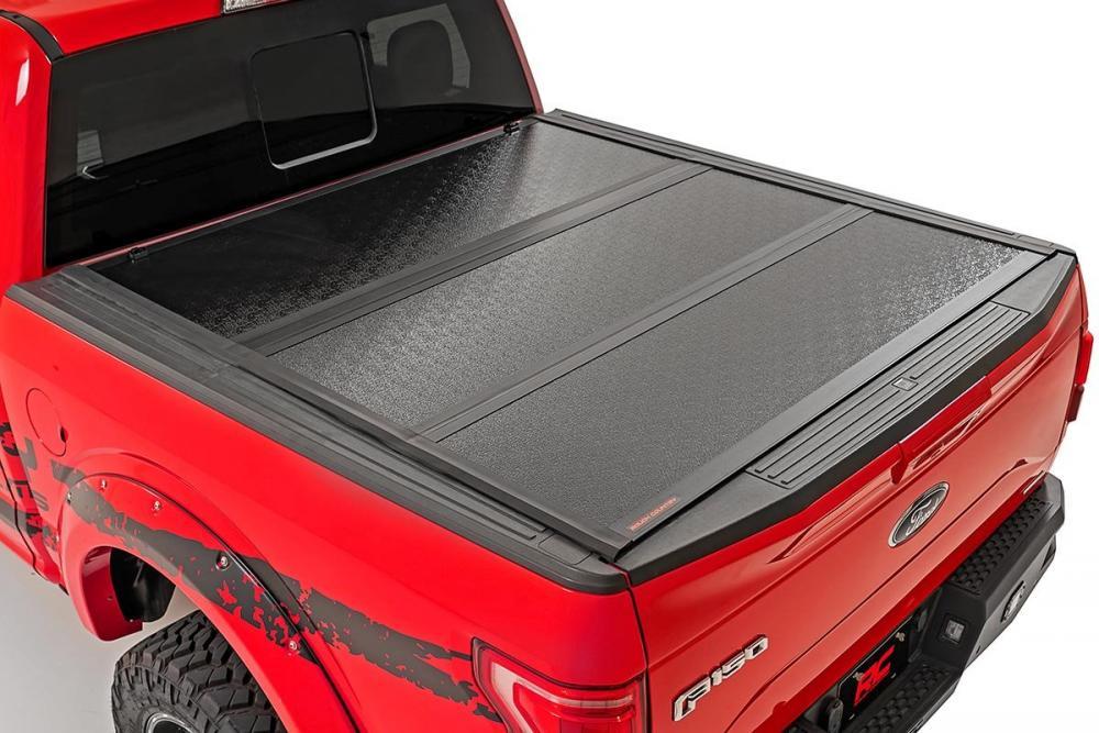Ford Low Profile Hard Tri-Fold Tonneau Cover (17