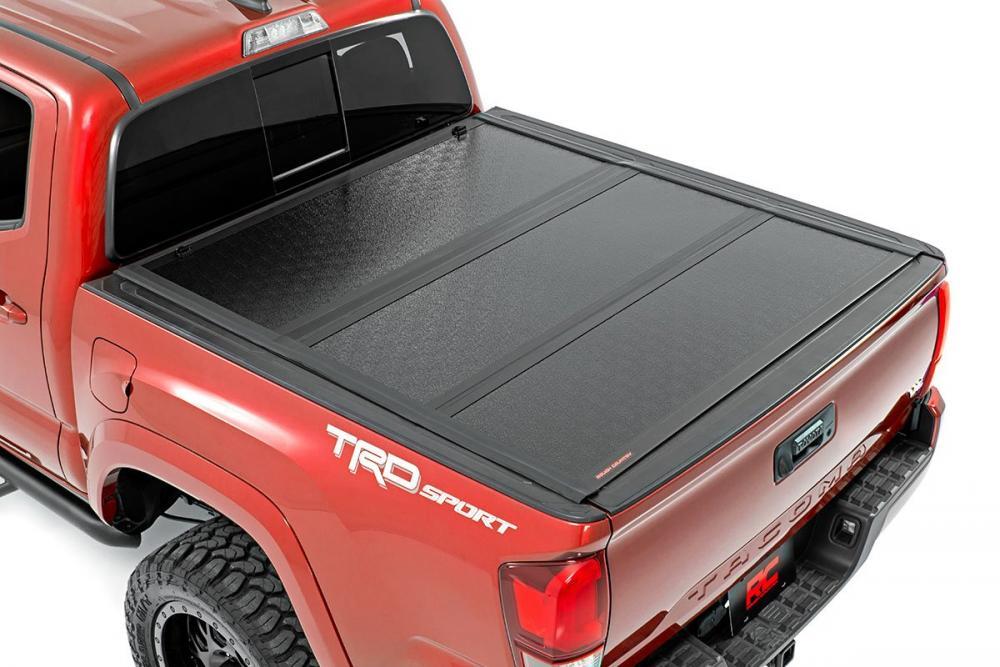 Toyota Low Profile Hard Tri-Fold Tonneau Cover (