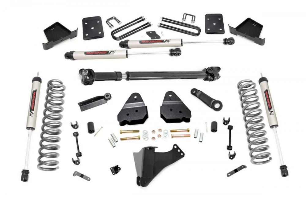 6in Ford Suspension Lift Kit w/ Front Drive Shaf