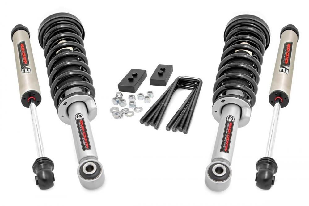 2in Ford Leveling Lift Kit | Lifted Struts & V2