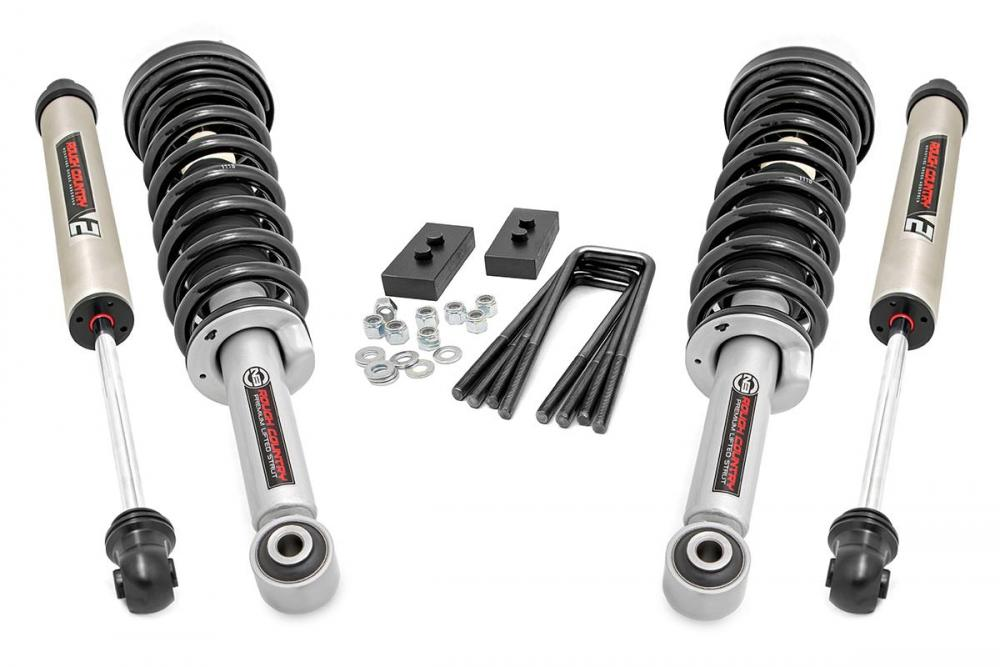 2in Ford Leveling Lift Kit | N3 Struts & V2 Shoc