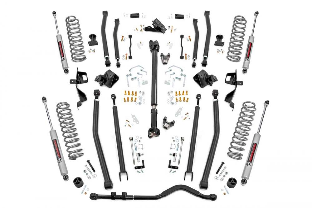 4in Long Arm Suspension Lift Kit w/ N3 Shocks (1