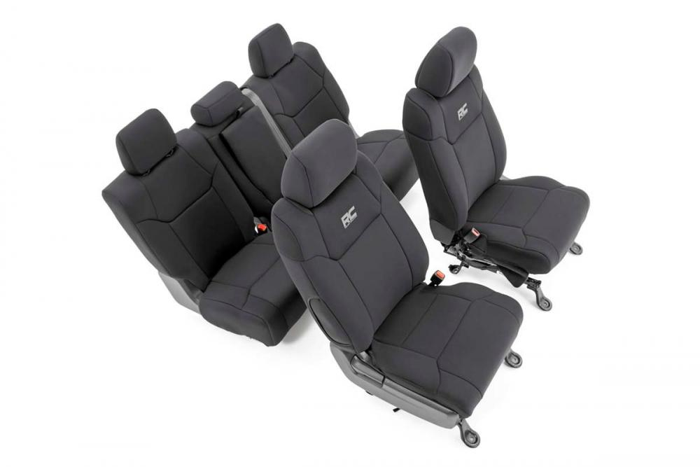 Toyota Neoprene Front & Rear Seat Covers (14-20