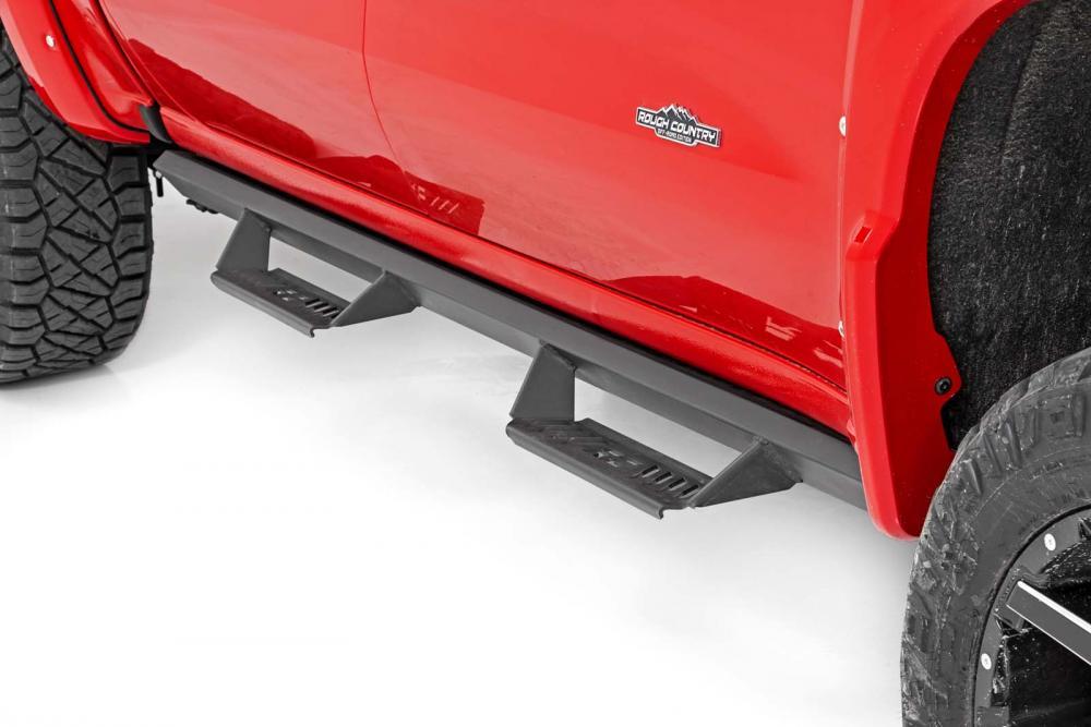 Dodge Cab-Length AL2 Drop Steps (09-18 Ram 1500/