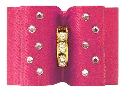 Medium Bow Hot Pink