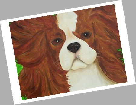 Cavalier King Charles Cards Set of 4