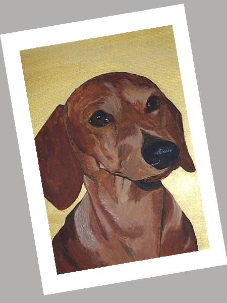 Dachshund Cards Set of 4