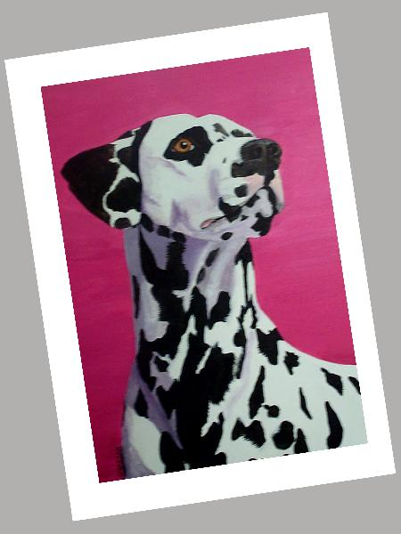 Dalmatian Cards Set of 4