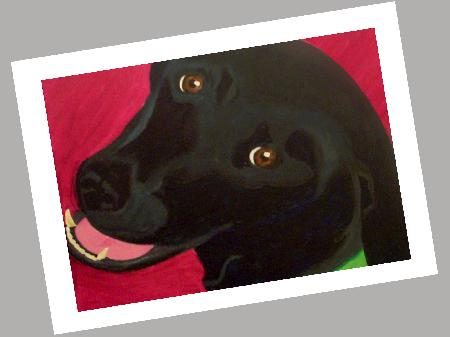 Labrador Retriever - Black Card