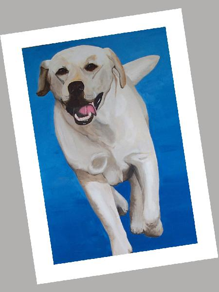 Labrador Retriever - Lemon Cards Set of 4