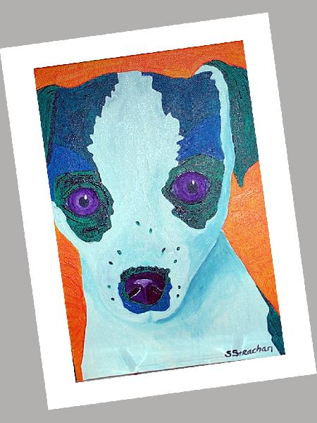 Toy Fox Terrier Card