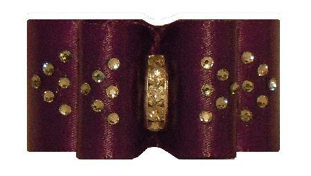 Large Bow Regal Purple