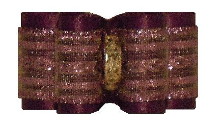 Large Bow Regal Purple