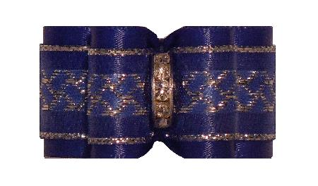 Large Bow Royal Blue