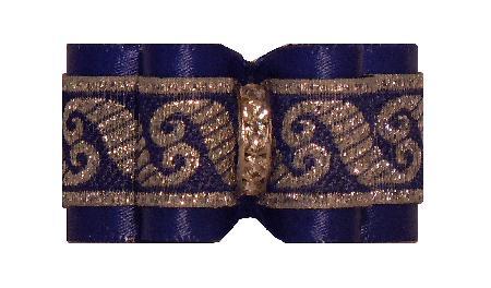 Large Bow Royal Blue