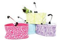 Animal Print Collapsiable Totes