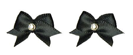 Bows - Maltese Flat Satin Sets