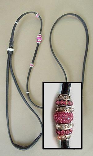 Leather Kindness with Swarovski Beads