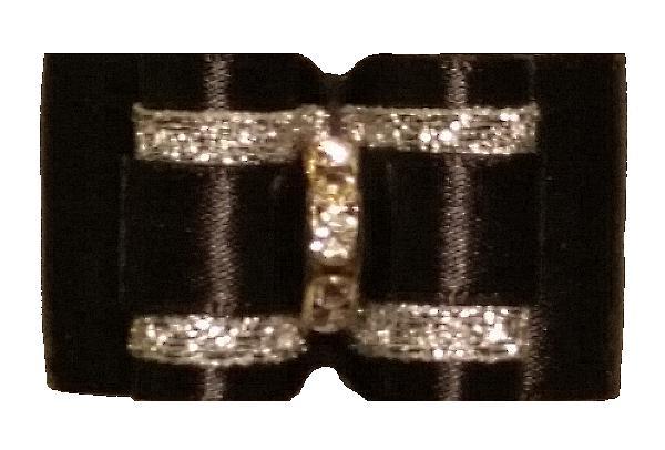 Large Bow Black