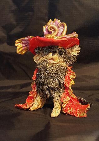 Statue Pomeranian Floozy