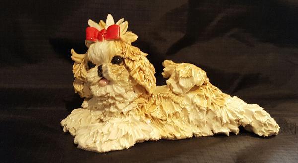 Statue Shih Tzu Puppy
