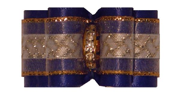 Medium Bow Royal Blue