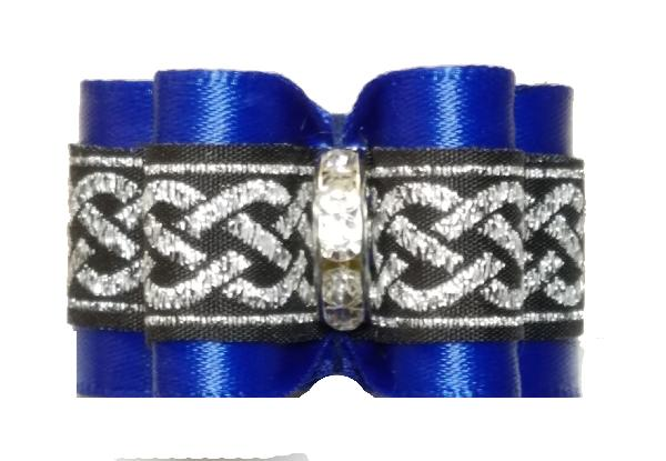 Medium Bow Royal Blue