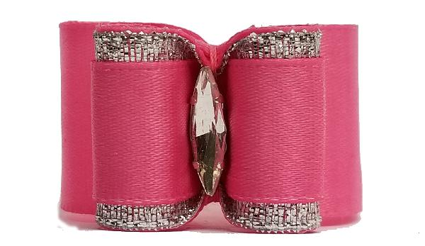 Large Bow Hot Pink