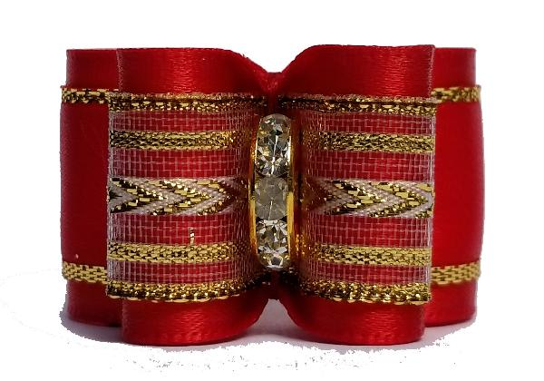 Large Bow Red