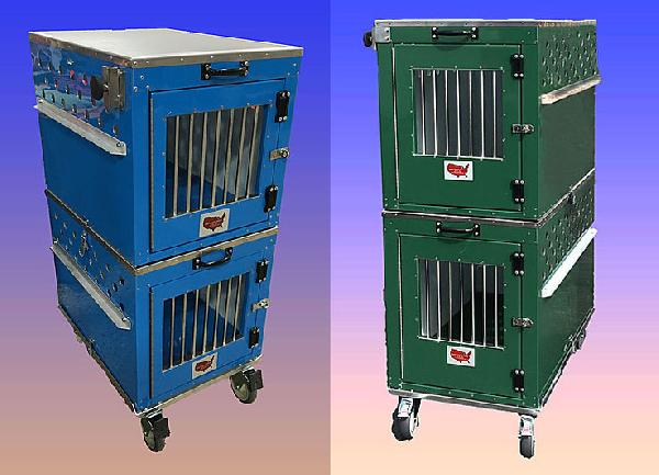 East Coast Stacking Crates with Wheel Set - 100