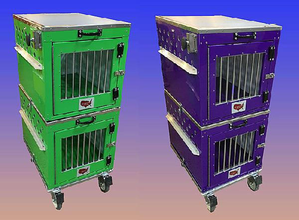 East Coast Stacking Crates with Wheel Set - 150